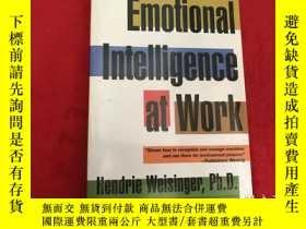 二手書博民逛書店Emotional罕見Intelligence At WorkY