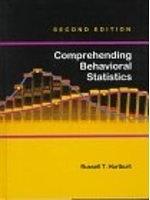 二手書博民逛書店 《Comprehending behavioral statistics》 R2Y ISBN:0534348890│RussellT.Hurlburt