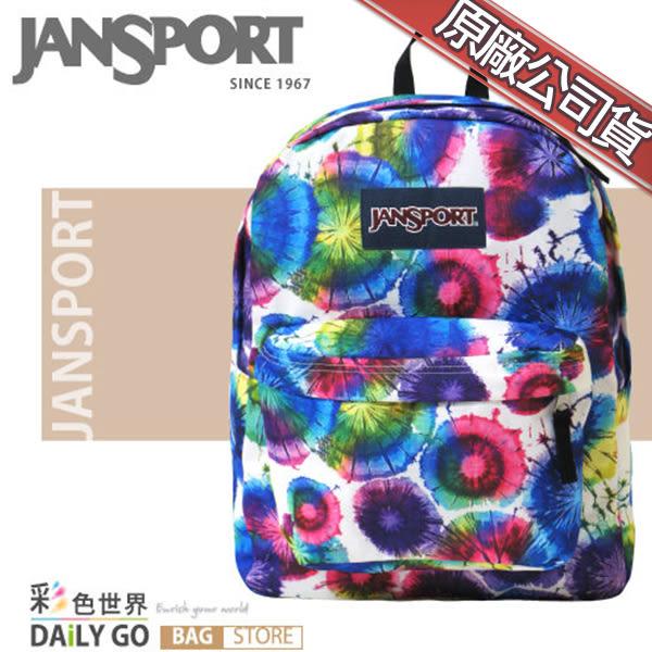 JANSPORT後背包包大容量JS-43501-0JX水暈染