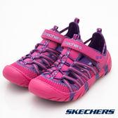 Skechers SUMMER STEPS 桃紅x紫 中大童涼鞋 NO.R2890
