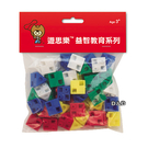 《 USL遊思樂教具 》USL等邊三角形(5色,50pcs) / JOYBUS玩具百貨