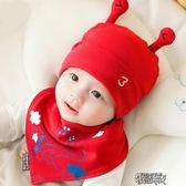 嬰兒帽子0-3-6-12個月男女寶寶帽子春秋兒童秋冬季新生兒胎帽1歲 街頭布衣