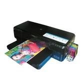 【200ml四色寫真墨水】HP Officejet 7110 A3無線網路高速印表機+連續供墨系統