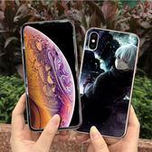 iPhone XR 卡通軟殼送同款滿版螢幕保護貼 手機殼 手機套 保護殼 螢幕玻璃貼 全包防摔軟殼 蘋果XR