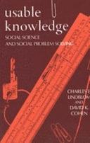 二手書博民逛書店《Usable Knowledge: Social Science and Social Problem Solving》 R2Y ISBN:0300023367