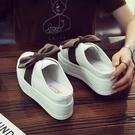增高拖鞋 包頭半拖鞋女夏外穿時尚百搭新款厚底鬆糕內增高時尚涼拖-Ballet朵朵