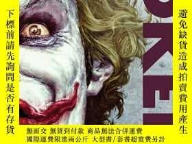 全新書博民逛書店DC黑標版英文原版 Joker (DC Black Label Edition) 漫畫 DC Comics 小醜蝙