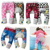 可愛《印花縮口款》可愛造型長褲