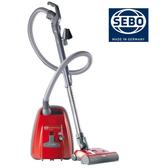 展示福利機 德國原裝SEBO頂級吸塵器 機動輕巧 AIRBELT K3 PREMIUM【紅色】