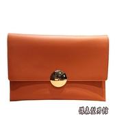 韓版大容量女手拿包2020夏季潮流簡約信封包時尚氣質手抓包鏈條包 傑森型男館