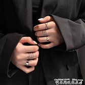 戒指日系簡約組合套裝戒指女小眾設計ins潮關節戒時尚個性食指戒手飾 衣間迷你屋