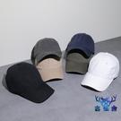 帽子男夏天舌帽女純色百搭棒球帽街頭學生遮陽太陽帽【古怪舍】