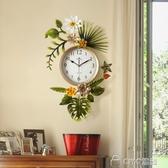 田園創意潮流美式客廳掛鐘錶北歐式簡約藝術時鐘家用掛錶 ciyo黛雅