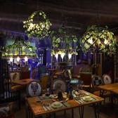 吊燈 植物復古鐵藝餐廳卡座清吧烤吧咖啡廳裝飾 現貨快出YJT
