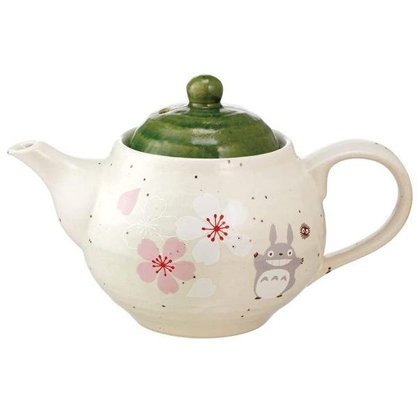 小禮堂 龍貓 日本製 陶瓷茶壺 (美濃燒) 4973307-54423
