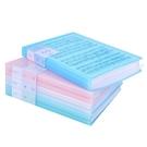A4透明多層資料冊試卷夾辦公用品學生用插頁袋小清新文件夾收納