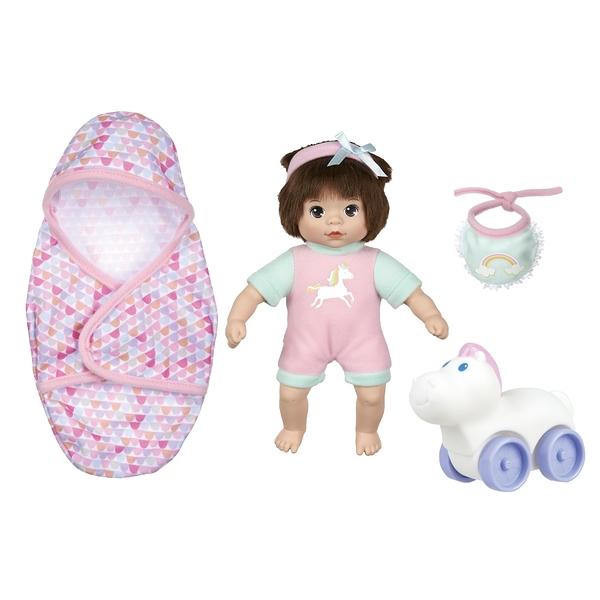 Baby Blush 親親寶貝 8吋娃娃玩樂學步車組 玩具反斗城