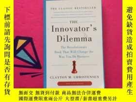 二手書博民逛書店The罕見Innovator s Dilemma: The Re