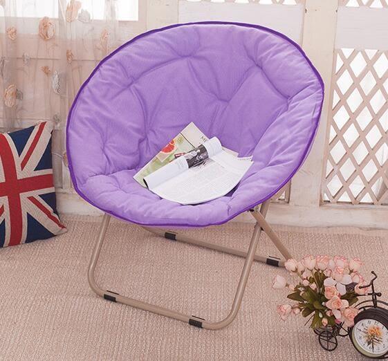 大號成人月亮椅太陽椅懶人椅躺椅折疊椅沙發靠背圓椅igo     琉璃美衣