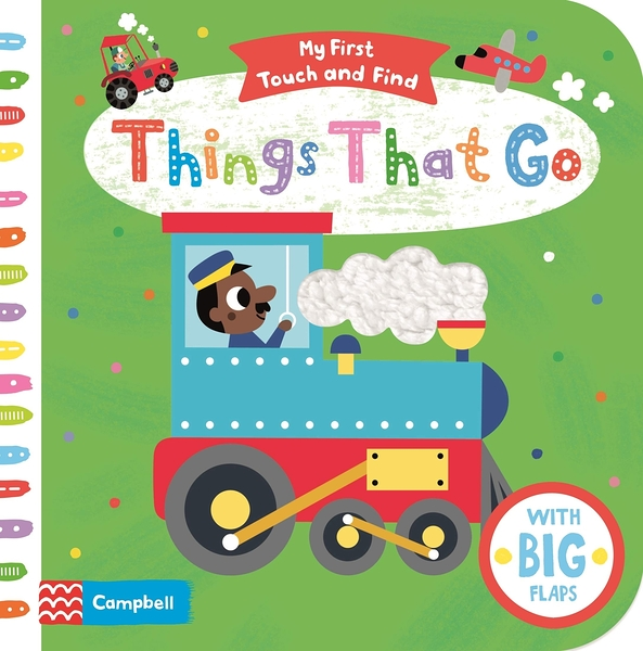 My First Touch And Find:Things That Go 我的第一本觸摸書:交通工具篇