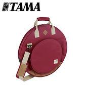 【敦煌樂器】TAMA TCB22 WR 22吋銅鈸袋 酒紅色