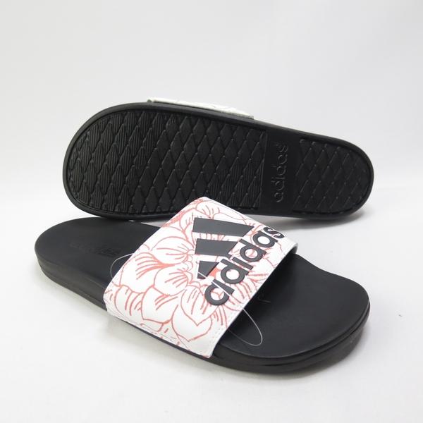 ADIDAS ADILETTE COMFOR 拖鞋 記憶鞋墊 FV6332 紅色花紋 男款【iSport愛運動】