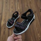 涼鞋 女童涼鞋韓版夏季公主鞋兒童寶寶軟底涼鞋中大童運動涼鞋【全館九折】