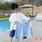 男童防曬衣服兒童連帽外套韓版中大童裝輕薄款透氣【淘嘟嘟】