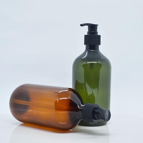 『藝瓶』瓶瓶罐罐 空瓶 空罐 化妝保養品分類瓶 填充容器 按壓瓶 乳液/壓泵圓肩分裝瓶-500ml