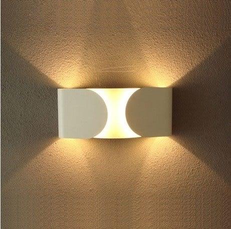 設計師美術精品館北歐宜家客廳餐廳裝飾 Flos Foglio 蝴蝶結壁燈
