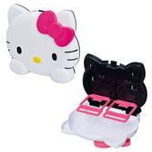 《Sanrio》HELLO KITTY大臉造型可折疊車用置物盤★funbox生活用品★_86442