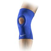 Nike Pro Open Patella [NMS55413MD] 運動 防護 支撐 開洞式 護膝 藍 M