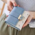 普瑞蒂2020新款韓版復古小錢包女短款三摺疊ins潮學生皮夾零錢包