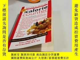 二手書博民逛書店the罕見calorie counter,英文原版Y182970