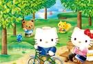 【P2拼圖】三麗鷗 Hello Kitty -春之森林 (300pcs) HP0300S-179