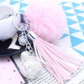 手機掛飾 卡通可愛汽車手機吊飾 個性創意扣鍊圈鈴鐺包包掛件創意女生禮物 玩趣3C