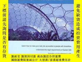 二手書博民逛書店Constructing罕見Accessible Web SitesY364682 Jim Thatcher