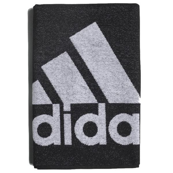 Adidas Towel S 黑 白 運動毛巾 愛迪達 慢跑 游泳 健身 法國毛圈 快乾 柔軟 DH2860