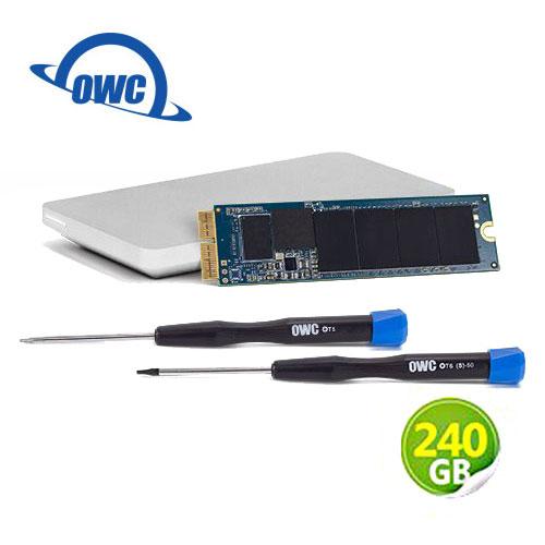 OWC Aura N 240GB NVMe 完整Mac升級套件 SSD 含工具及Envoy Pro 外接盒 (OWCS3DAB2MB02K)