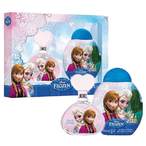 Disney Frozen 冰雪奇緣淡香水 100ml 禮盒 外盒壓傷