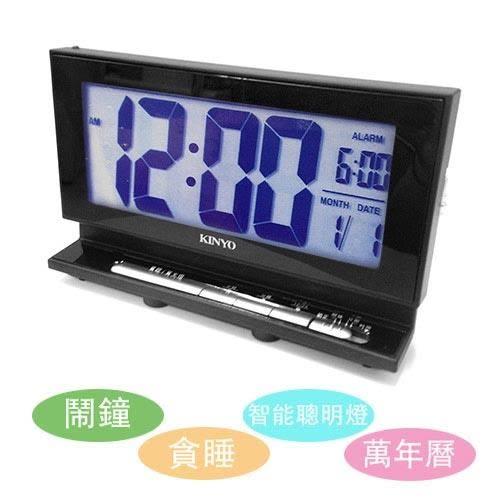 KINYO液晶多功能電子鐘TD339
