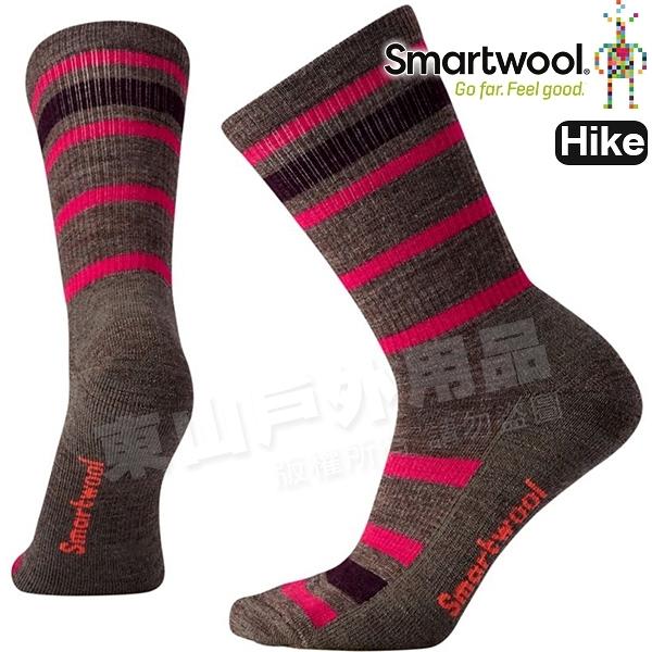 Smartwool Hike LT SW000764-236灰褐 女輕量減震型健行中長襪 美麗諾羊毛襪/機能襪/運動襪