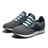 PONY   灰色 女 網布 透氣 休閒鞋  (布魯克林)  71W1SY92BK