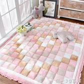 韓式韓國加厚短毛絨家用地毯臥室滿鋪長方形床邊茶幾地墊榻榻米 【帝一3C旗艦】