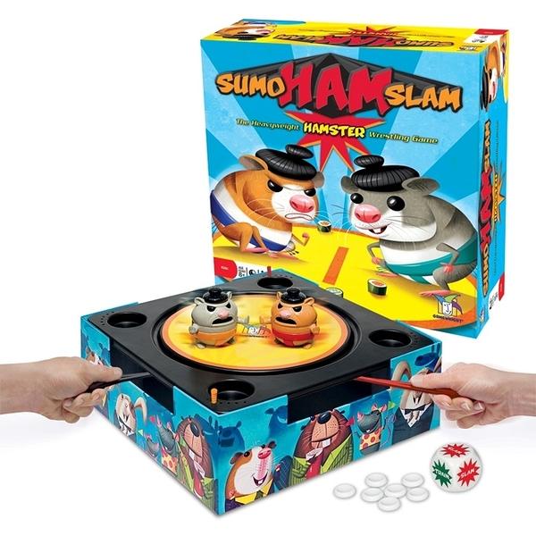 【樂桌遊】倉鼠相撲 Sumo Ham Slam(英文版)