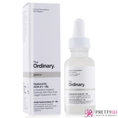 The Ordinary Hyaluronic Acid 2% + B5 超純補水玻尿酸(30ml)【美麗購】