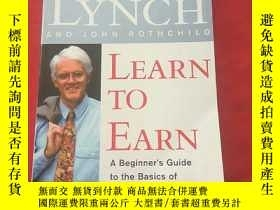 二手書博民逛書店PETER罕見LYNCH LEARN TO EARNY17907