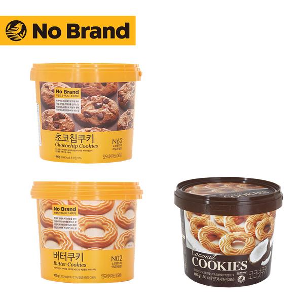 No Brand 桶裝餅乾 一桶(奶油/巧克力/椰子)