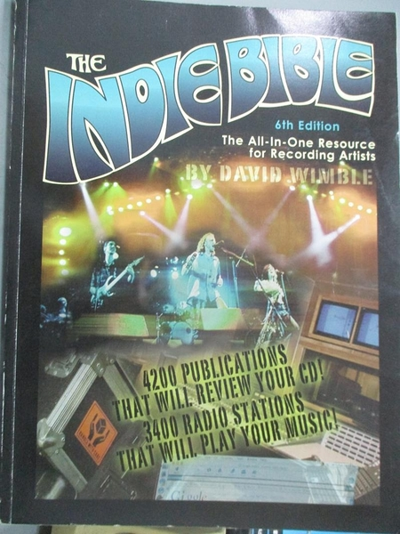 【書寶二手書T2/音樂_ZBB】The Indie Bible_David Wimble