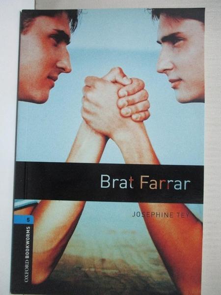 【書寶二手書T5/原文小說_IJ3】Brat Farrar_Ralph Mowat
